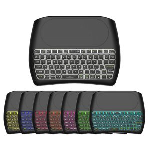 D8 backlit keyboard
