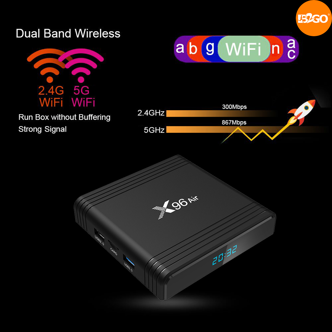 x96 air smart tv box
