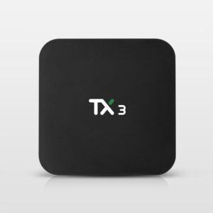 Amlogic S905x3 8K Video Decode 2.4G+5.8G WiFi TX3 S905X3 Android 9.0 TV Box