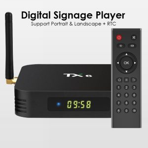 OEM Customize 4k android digital signage media player for advertising led lcd display