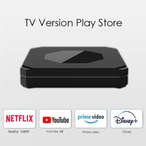 OEM Customize Quad Core 2GB 16GB Dual Bnad Wifi TV Version Play Store Android 10.0 TV Box