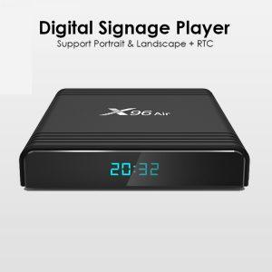OEM Customize Quad Core Amlogic S905X3 Android 9.0 4GB 32GB Signage TV Box Player