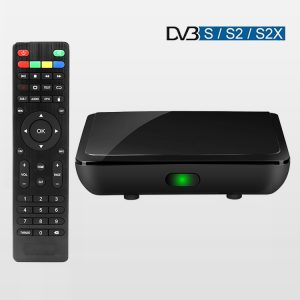 Android 10.0 TV Box Support Netflix 1080p Youtube 4K Stb Hybird Dvb S2 Set Top Box